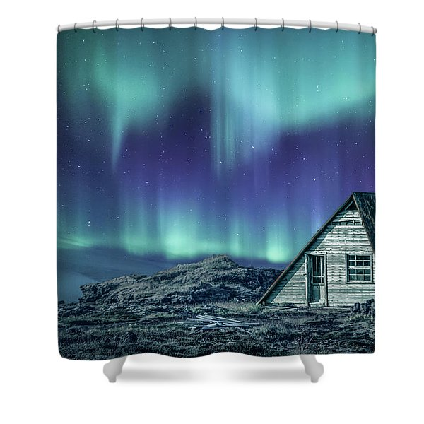 Light Up My Darkness Shower Curtain