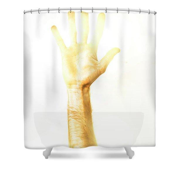 Light Worker Outreach Shower Curtain