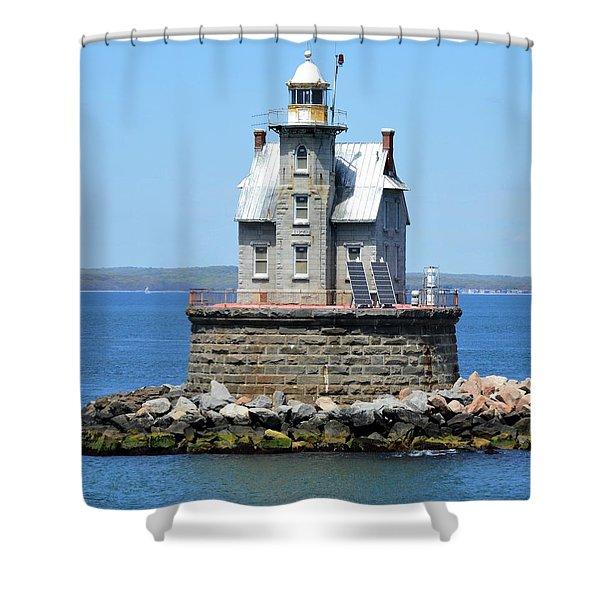 Lighthouse 2-c Shower Curtain