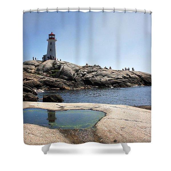 Lighthouse Lighthouse Shower Curtain