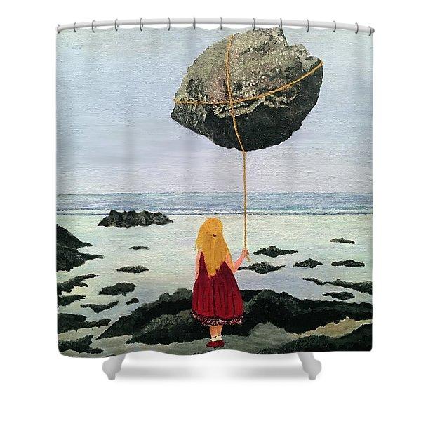 Lightness Of Being Shower Curtain