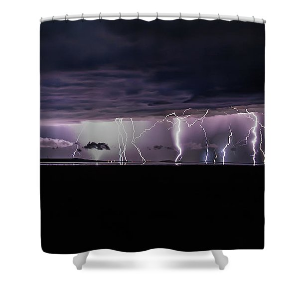 Fingers Of God Shower Curtain