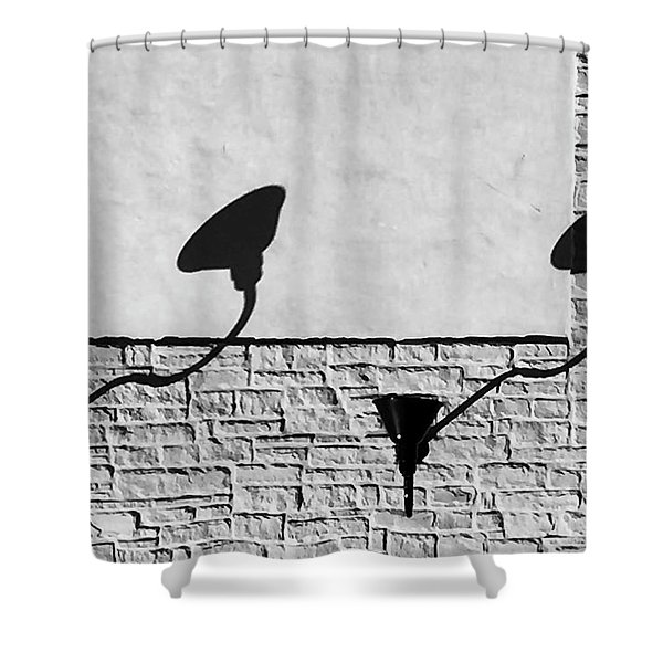 Lights And Texture Shower Curtain