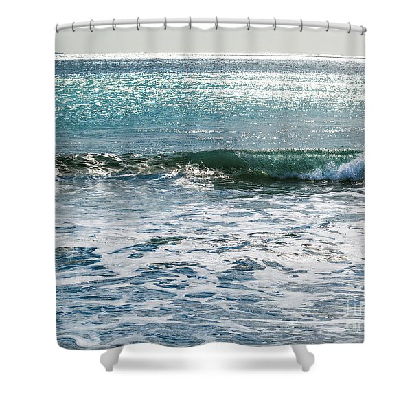 Lightscape On Water Shower Curtain