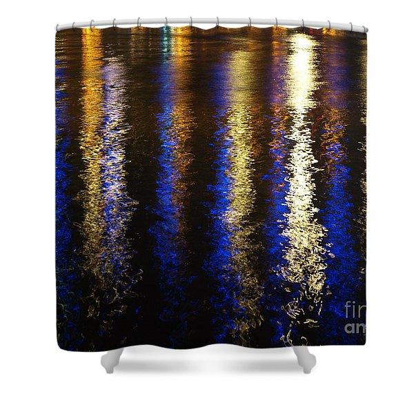 Lightup Pgh Shower Curtain