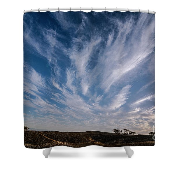 Like Feathers In The Sky Shower Curtain