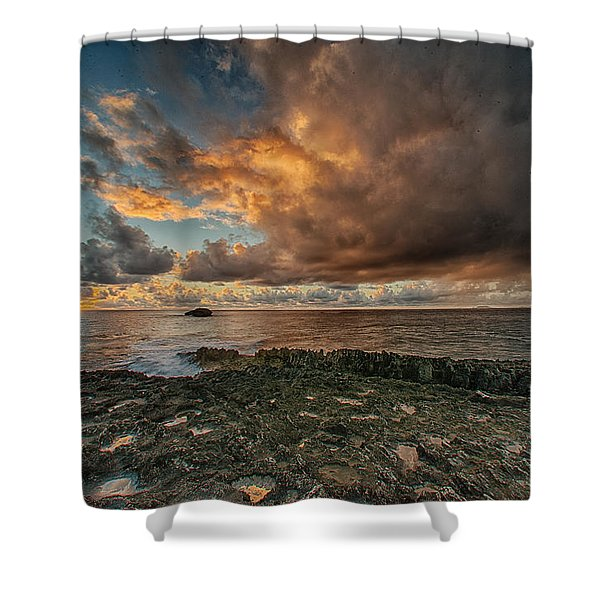Like The First Morning Shower Curtain
