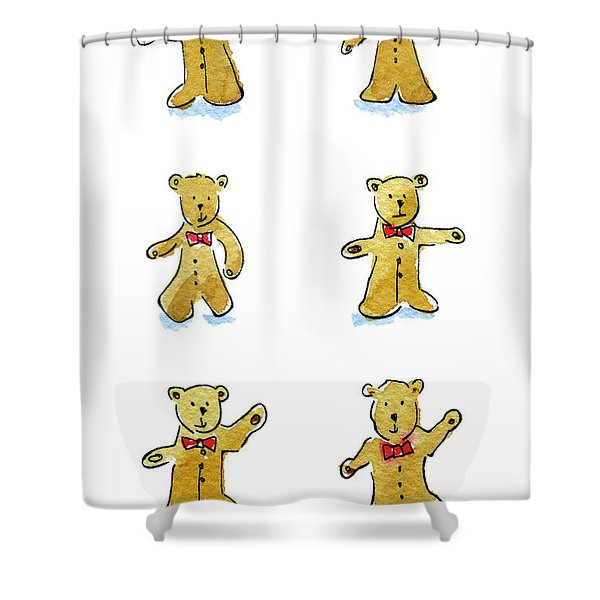 L'il Teddies Shower Curtain