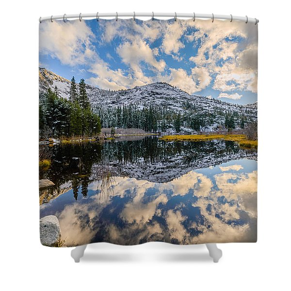 Lily Lake Shower Curtain