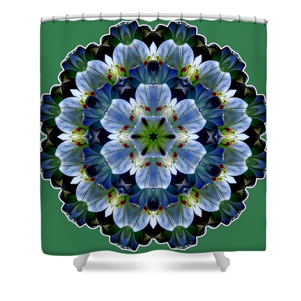 Lily Medallion Shower Curtain