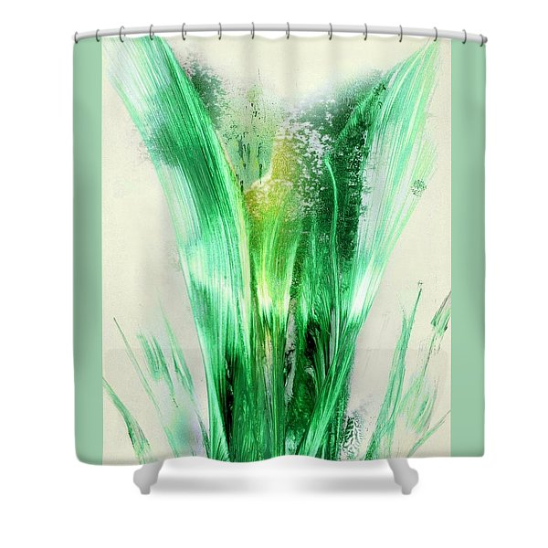 Lily Of Life Shower Curtain
