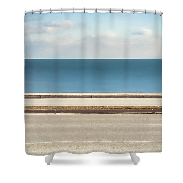 Lincoln Memorial Drive Shower Curtain