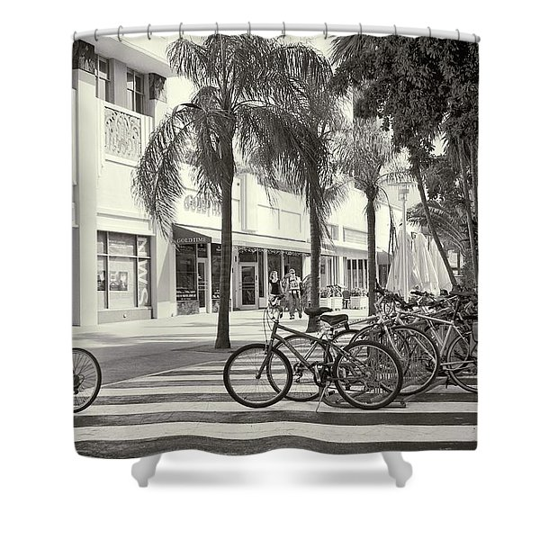 Lincoln Road Shower Curtain