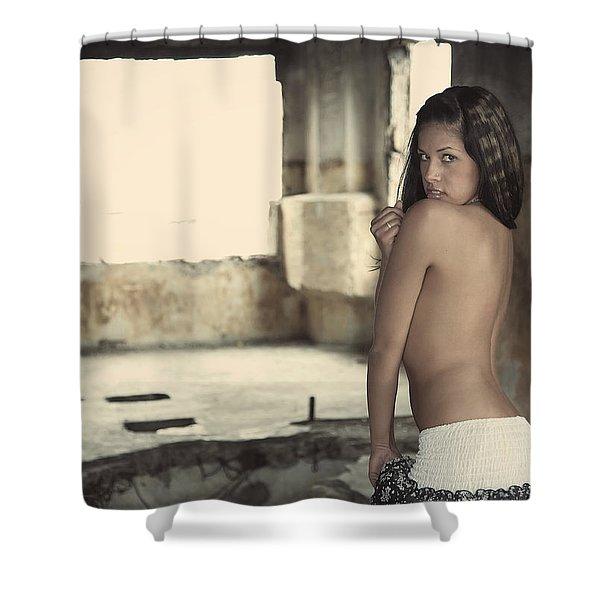 Linda's Seduction Shower Curtain