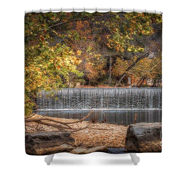 Lindenlure Shower Curtain