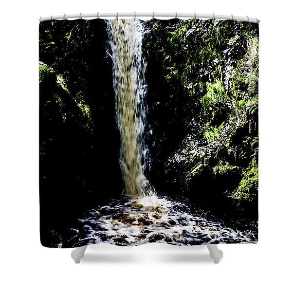 Linhope Spout Waterfall Shower Curtain