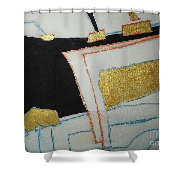 Linear-2 Shower Curtain