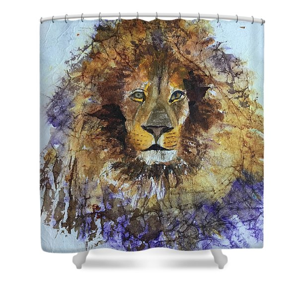 Lion Head Shower Curtain