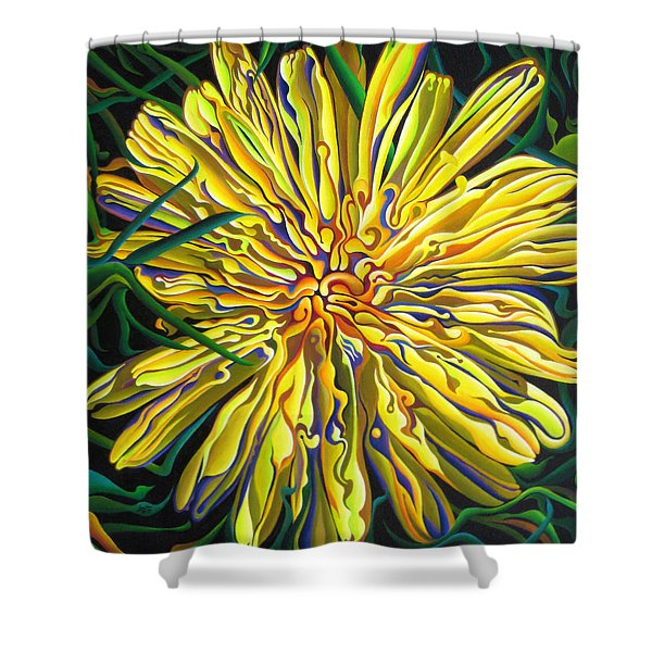 Lion In The Grass Shower Curtain