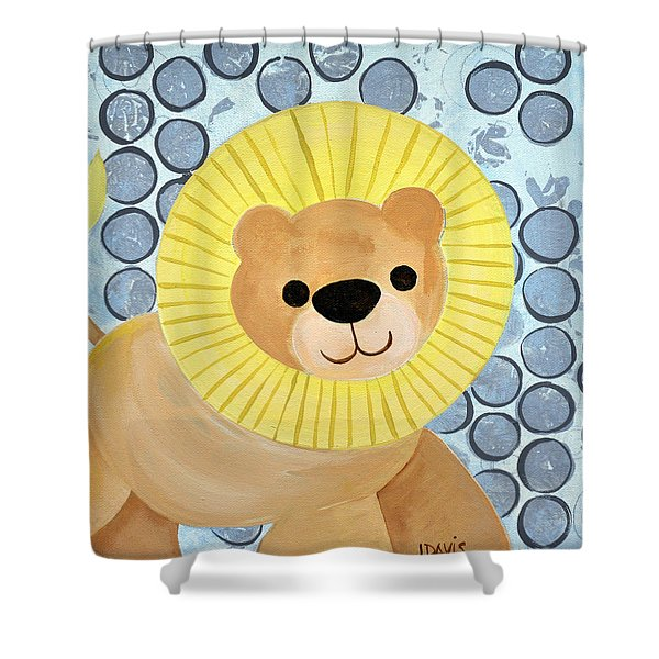 The Blessing Of The Lion Shower Curtain