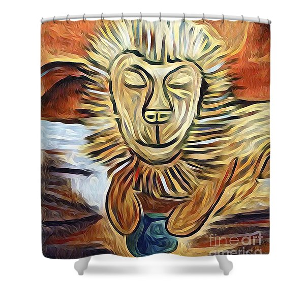 Lion Of Judah II Shower Curtain