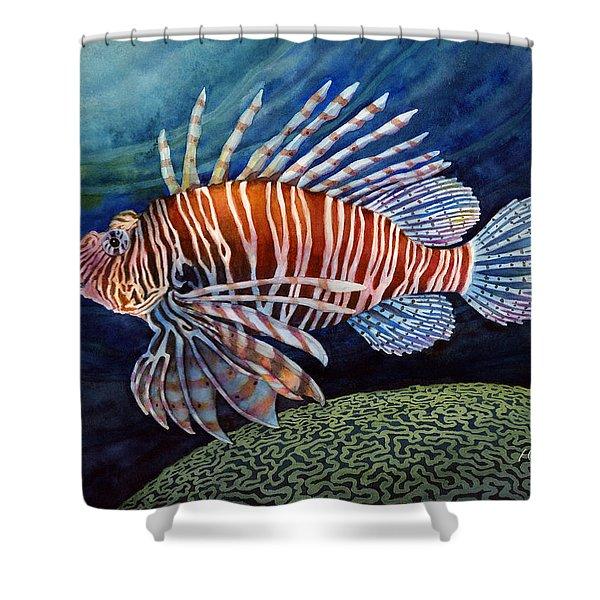 Lionfish Shower Curtain