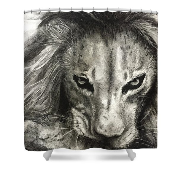 Lion's World Shower Curtain