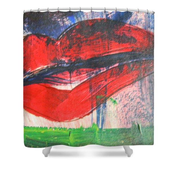Lipstick - Sold Shower Curtain