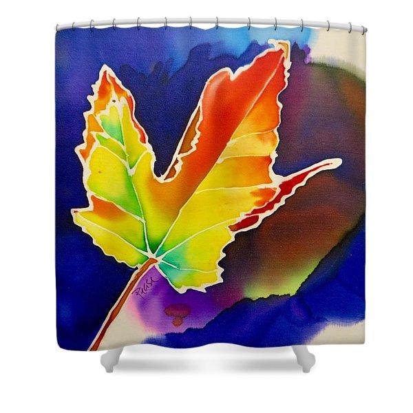 Liquid Amber Shower Curtain