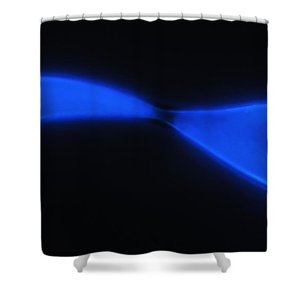 Liquid Blue 2 Shower Curtain