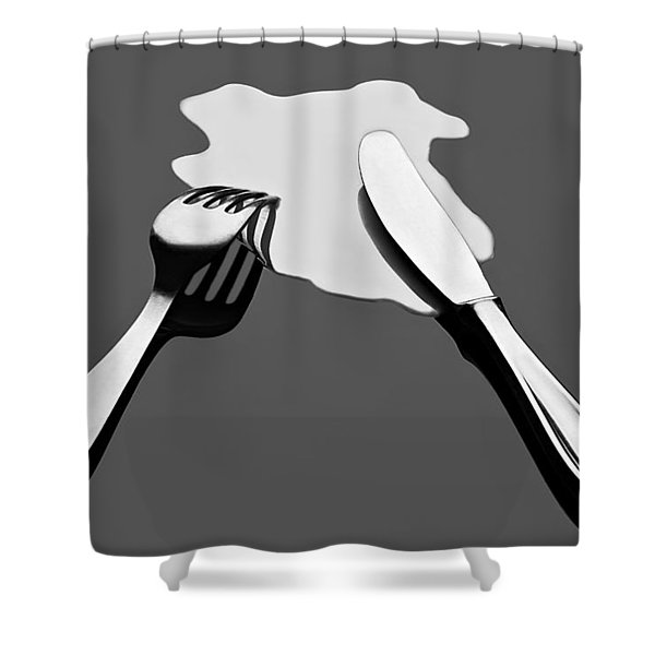 Liquid Food Shower Curtain