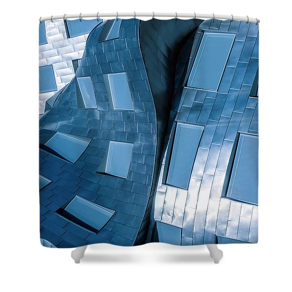Liquid Form Shower Curtain