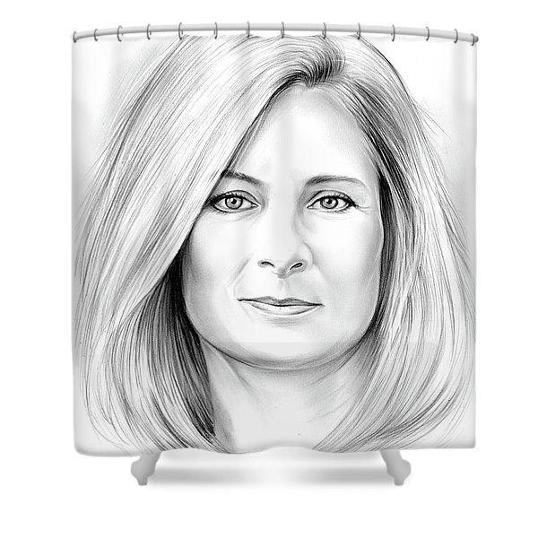 Lisa Randall Shower Curtain