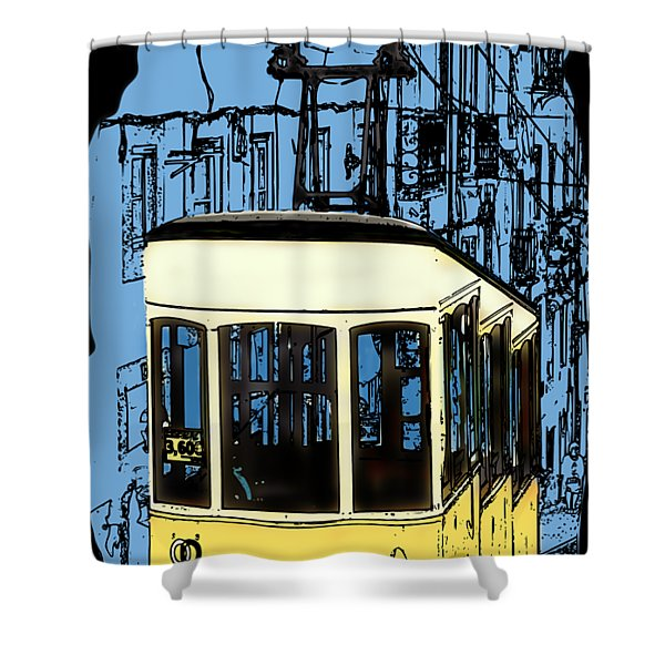 Lisbon Shower Curtain