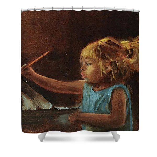 Little Artist Shower Curtain