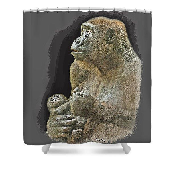 Little Blessing Shower Curtain