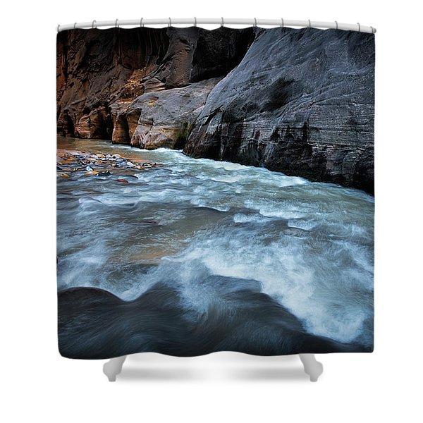 Little Creek Shower Curtain