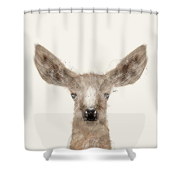 Little Deer Fawn Shower Curtain
