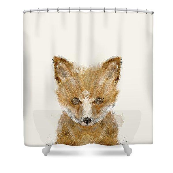 Little Fox Cub Shower Curtain