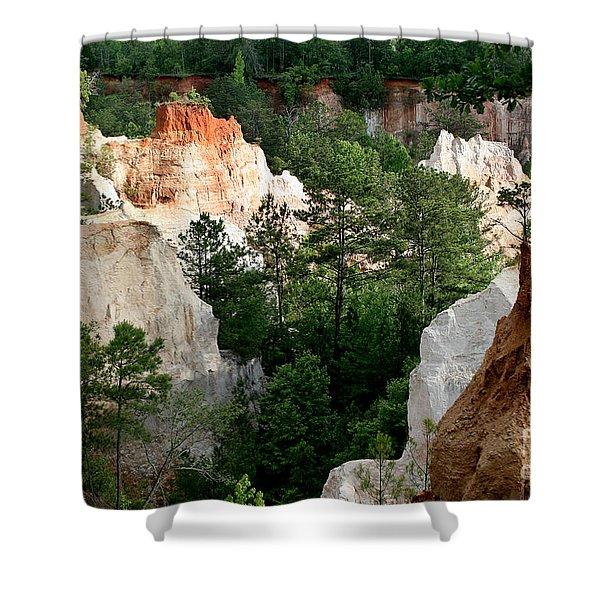 Little Grand Canyon Shower Curtain