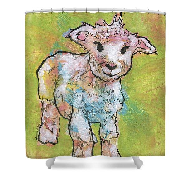 Little Lamb Shower Curtain