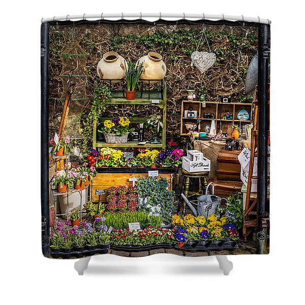 Shower Curtain featuring the photograph Little Market by Nick Bywater
