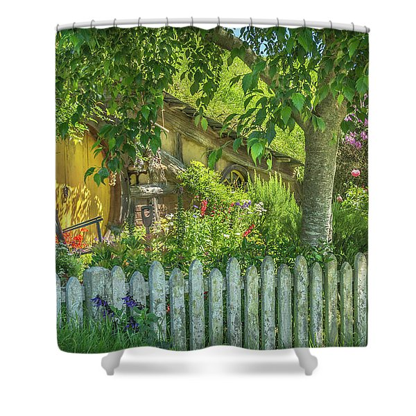 Little Picket Fence Shower Curtain