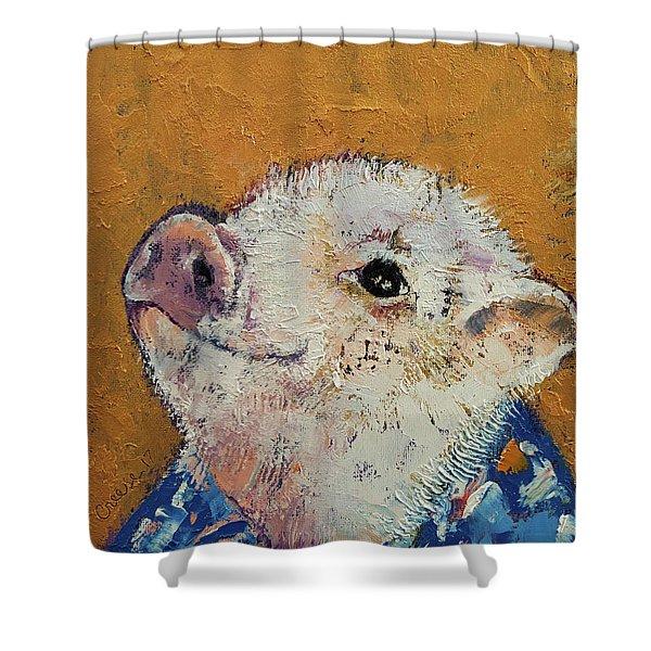 Little Piggy Shower Curtain