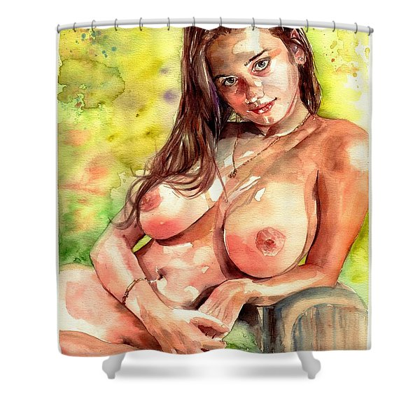 Little Poison Shower Curtain