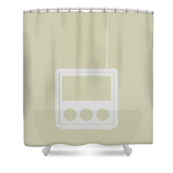 Little Radio Shower Curtain