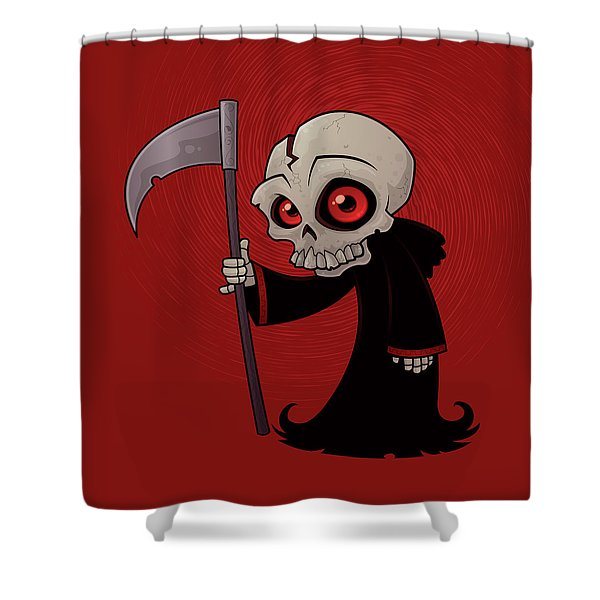 Little Reaper Shower Curtain