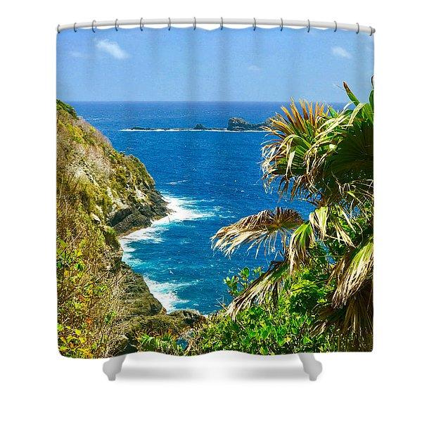 Little Tobago  Shower Curtain