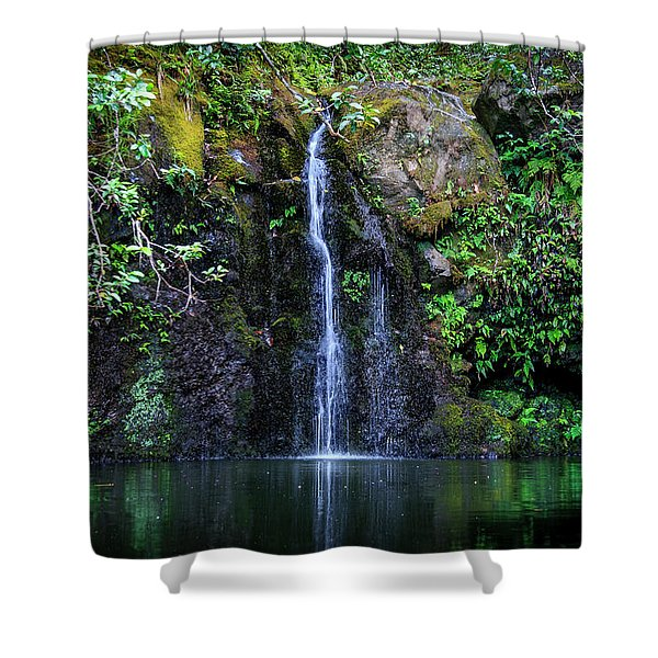 Little Waterfall Shower Curtain