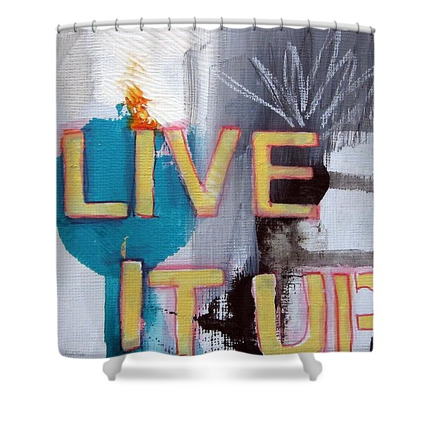 Live It Up Shower Curtain